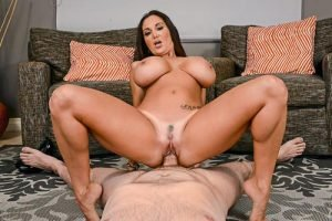 Ava Addams The Hard Sell huge tits hot mature sex .