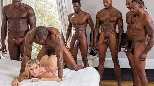 Kali Roses Passing Me Around Multiple Creampies Interracial .
