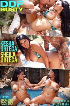 Kesha Ortega ,Sheila Ortega Big Boobs Latina Twins Sex .
