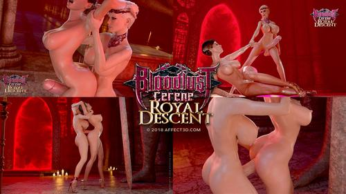 Porn Movie Hentai 3D Bloodlust Cerene Royal Descent.