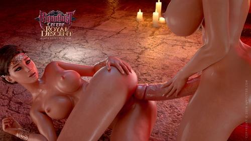 Porn movie hentai 3D Bloodlust Cerene Royal Descent.