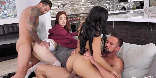 Jada Kai & Danni Rivers daughter fucked by father 2019 HD .