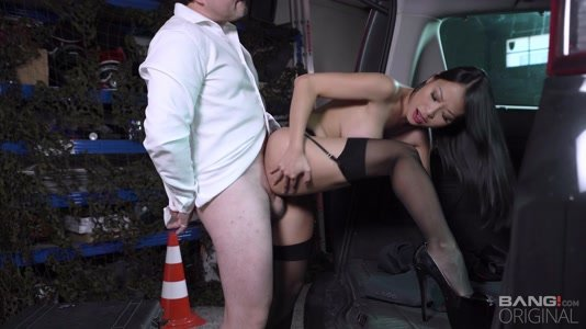 Beautiful Asian Pussykat Gets Fucked By Big Cock Cop HD.