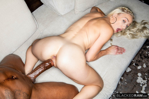 Hot Blonde Teen Fucked Hard By A Very Big Black Cock HD.